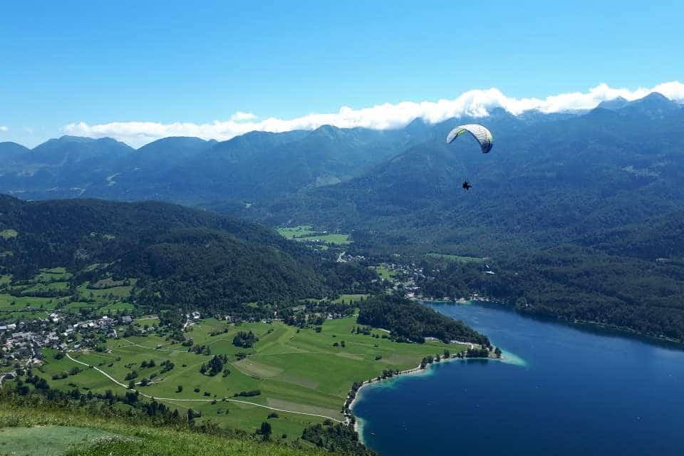 vogar viewpoint lake bohinj