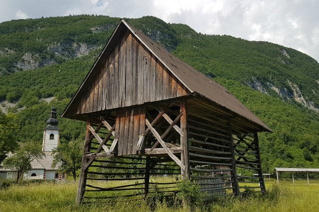 hayrack bohinj slovenia