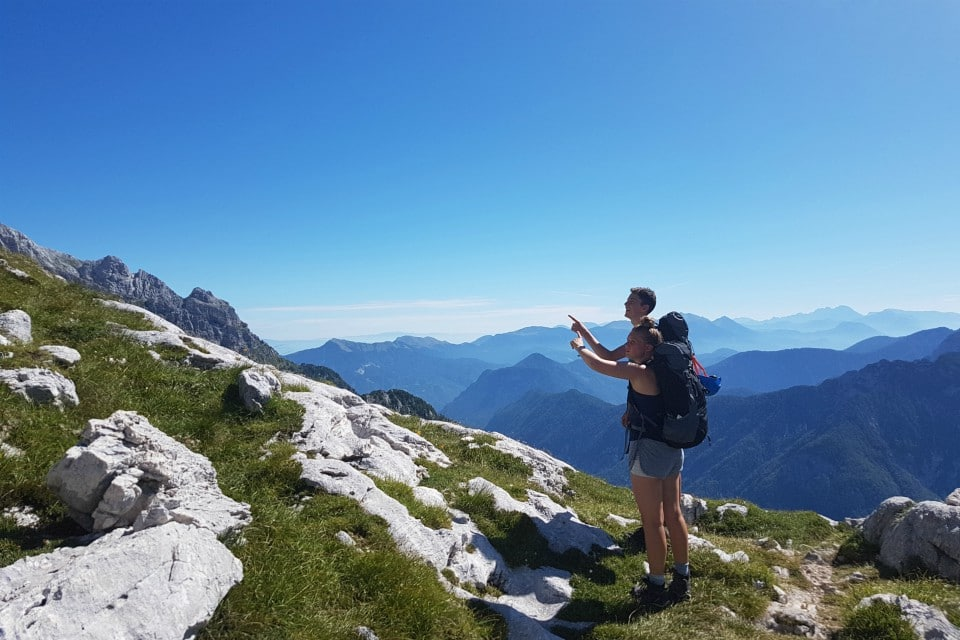 hiking julian alps skrlatica