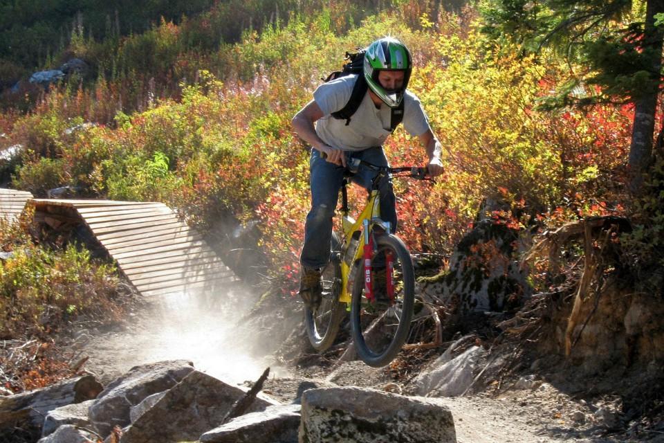 mountain biking vogel bohinj