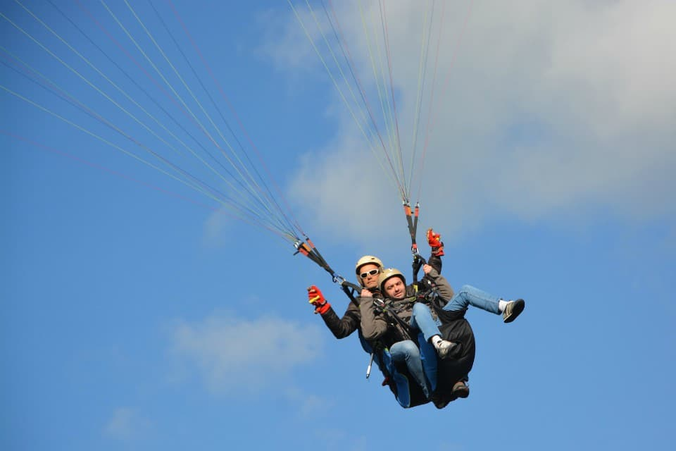 paragliding lake bohinj
