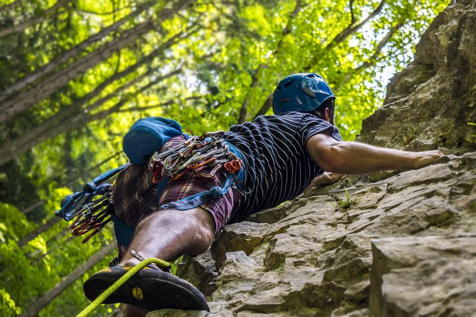 rock climbing bohinj slovenia
