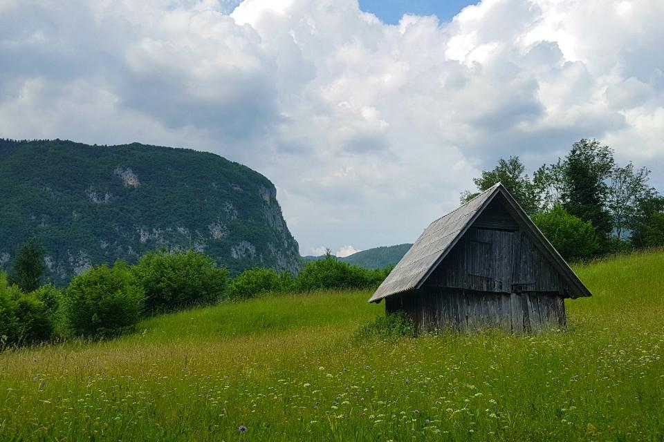 rudnica hike bohinj slovenia