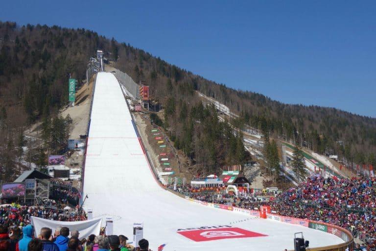 ski jump planica slovenia