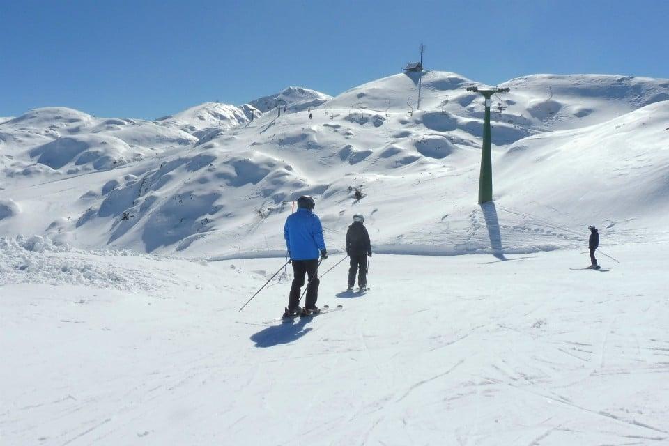skiing vogel bohinj slovenia