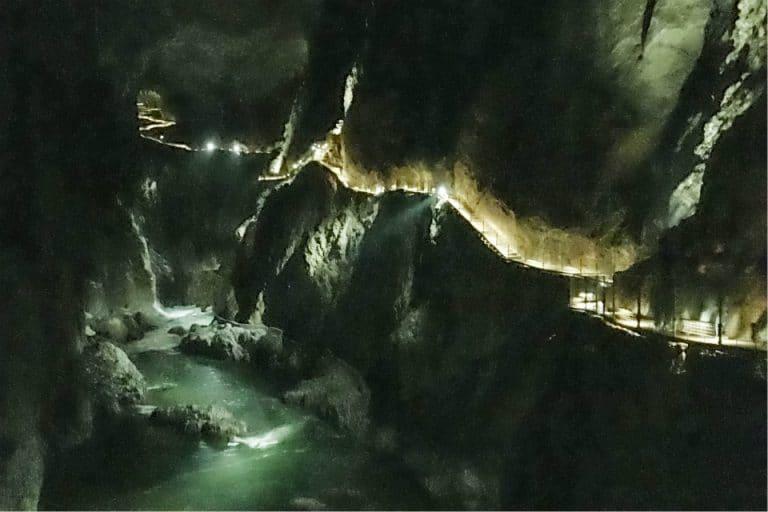 skocjan cave slovenia