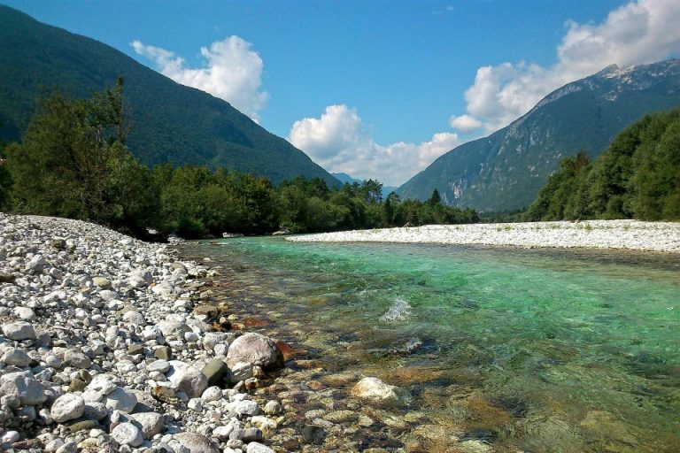 soca river valley slovenia