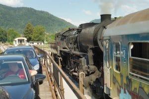 steam train bohinj railway
