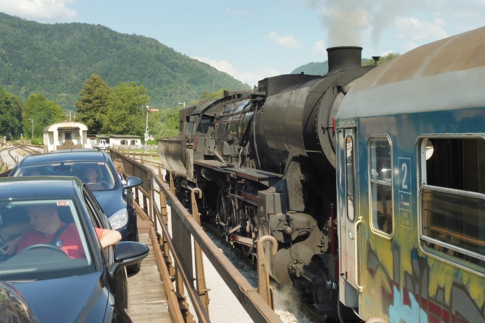 steam train bohinj railway