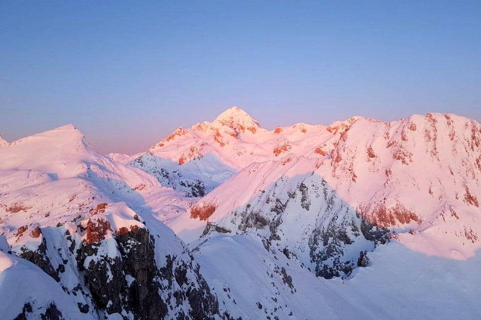 Sunrise Julian Alps