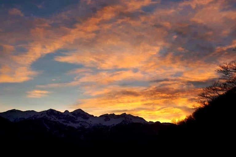 sunset vogar slovenia