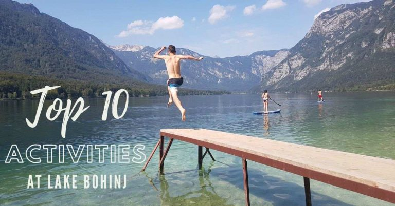 top 10 activities at lake bohinj