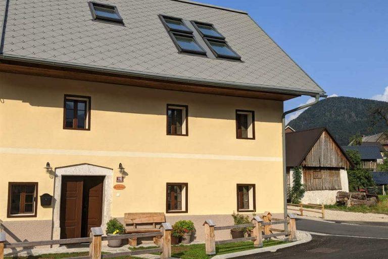Escape to Bohinj self-catering holiday accommodation in Slovenia