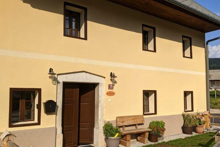 Escape to Bohinj self-catering holiday accommodation Slovenia