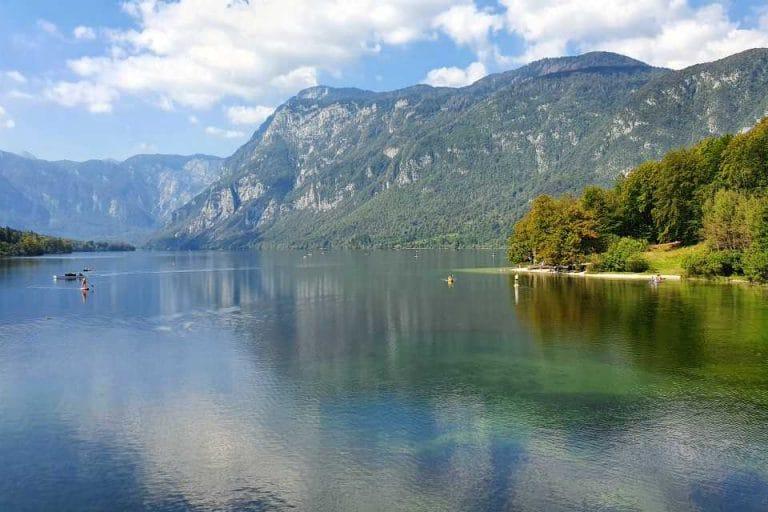 Walk around Lake BohinEnjoy spectacular views as you walk around Lake Bohinj in Slovenia
