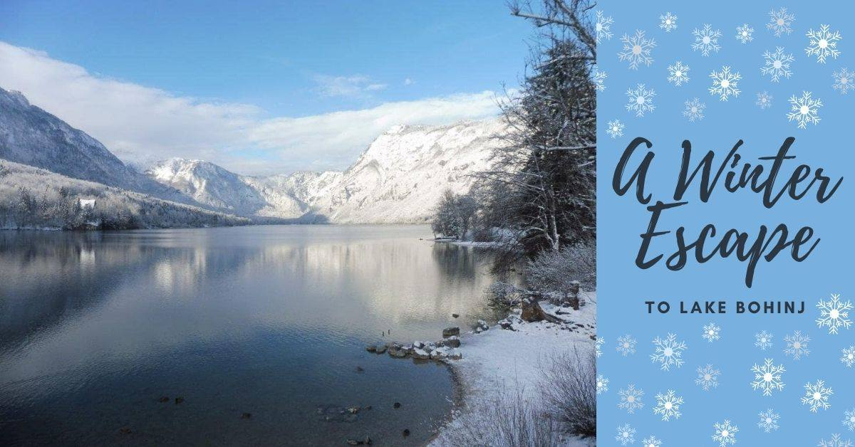 Things to do in winter at Lake Bohinj in Slovenia
