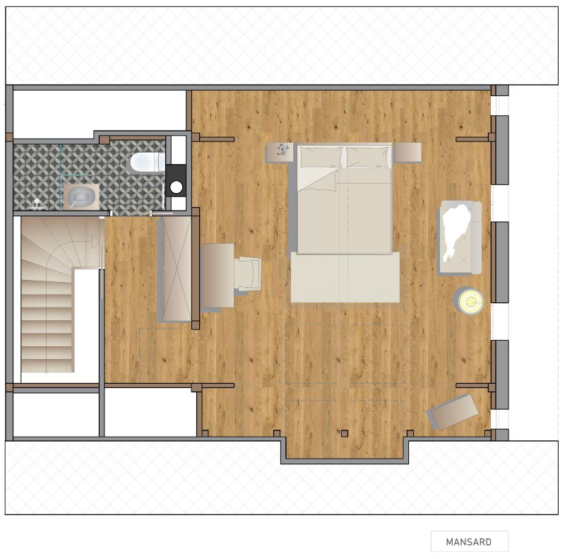Escape to Bohinj floor plans for self-catering accommodation Slovenia