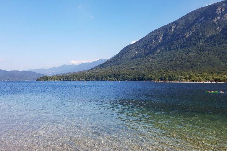 wild swimming lake bohinj slovenia