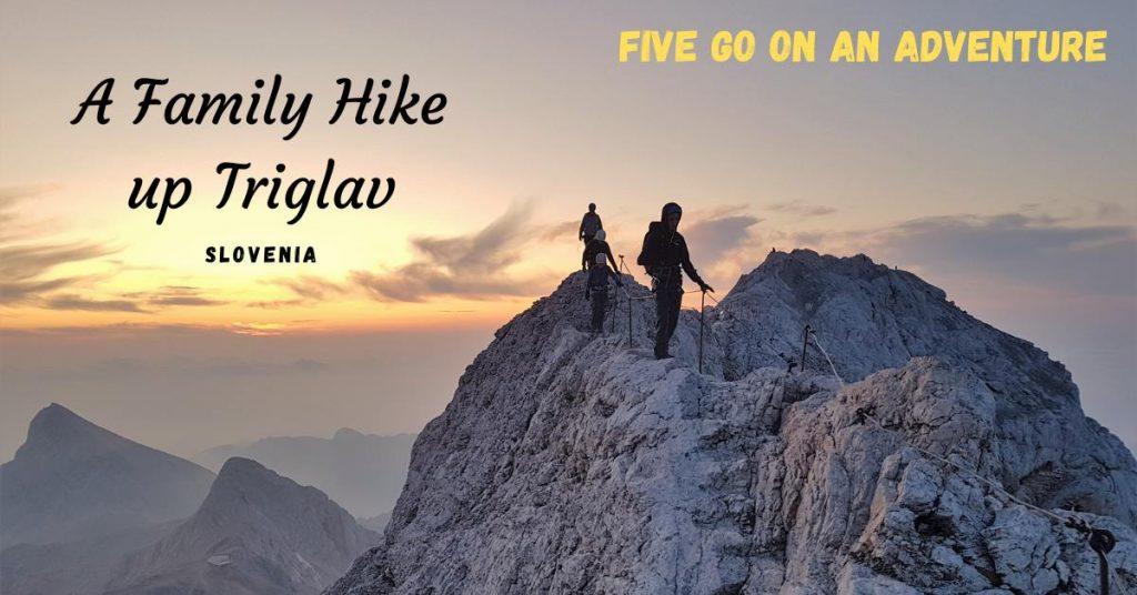 Family Hike up Triglav