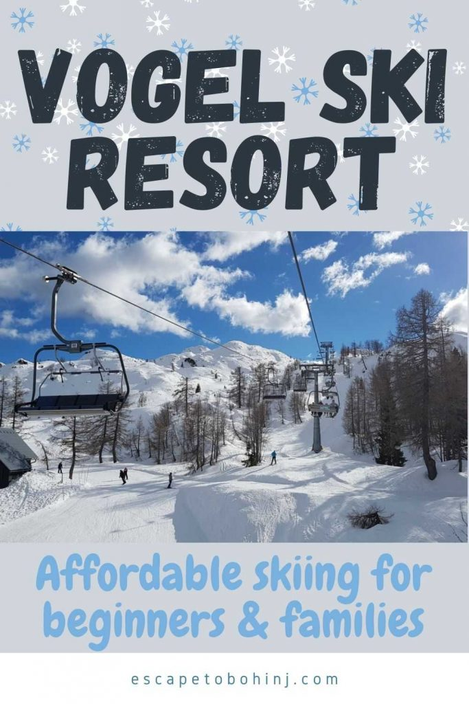 Skiing at Vogel Ski Resort Slovenia