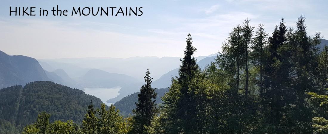 hiking bohinj slovenia