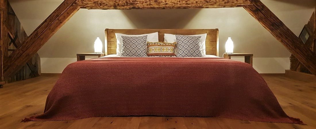 Escape to Bohinj holiday house luxury bedroom